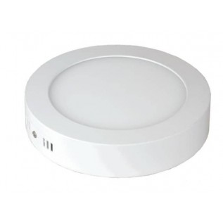 Панель светодиодная круглая NRLP-eco 14Вт 160-260В 4000К 1120Лм 170мм белая накладная IP40