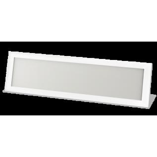 Панель светодиодная LP-01-PRO 36Вт 230В 4000К 2700Лм 1195х295х8мм без ЭПРА БЕЛАЯ IP40 LLT