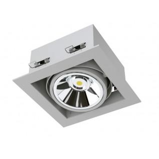 Карданный светодиодный встраиваемый светильник SOFIT RD X1