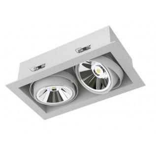 Карданный светодиодный встраиваемый светильник SOFIT RD X2