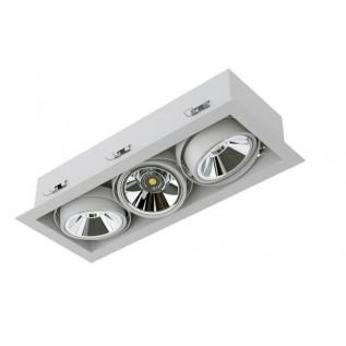 Карданный светодиодный встраиваемый светильник SOFIT RD X3