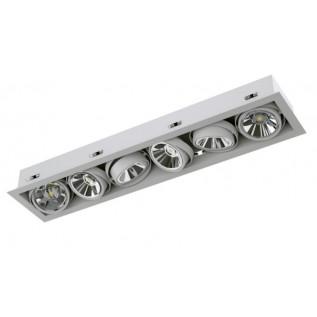 Карданный светодиодный встраиваемый светильник SOFIT RD X6