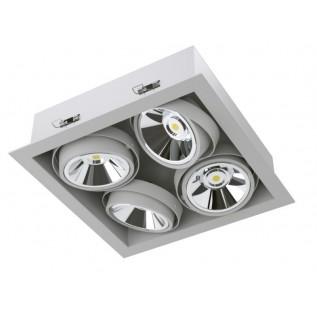 Карданный светодиодный встраиваемый светильник SOFIT RD 2X2