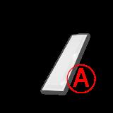 Школьный матовый, 12 Вт, БАП, светодиодный светильник