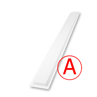 Школьный матовый, 24 Вт, БАП, светодиодный светильник