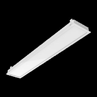Светодиодный светильник Грильято GR270/F (с рамкой 1188*180 аналог 2*36)