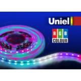 ULS-5050-60LED/m-10mm-IP33-DC12V-14,4W/m-5M-RGB катушка в герметичной упаковке