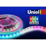 ULS-5050-60LED/m-10mm-IP20-DC12V-14,4W/m-5M-RGB катушка в герметичной упаковке