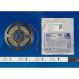 ULS-2835-120LED/m-8mm-IP20-DC12V-9,6W/m-5M-RED катушка в герметичной упаковке