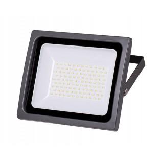 Светодиодный прожектор WFL-100W/06, 5500K, 100 W SMD, IP 65,цвет серый, слим