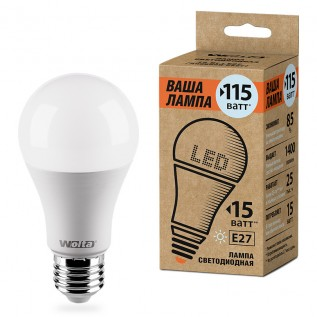 "Лампа LED WOLTA 25S60BL15E27-P 4000K ""Ваша лампа"" 15вт"