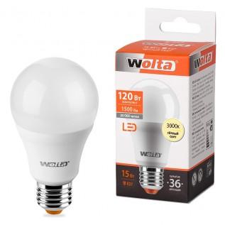 Светодиодная лампа 15вт Е27 WOLTA
