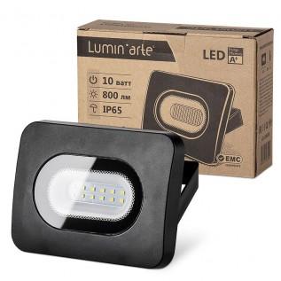 Светодиодный прожектор LFL-10W/05, 5500K, 10 W SMD, IP 65,цвет серый, слим