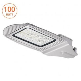 Уличный светодиодный светильник STL-100W01 IP65,  5000-5500 К,алюминий, линза